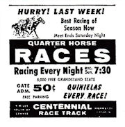 Centennial Race Track